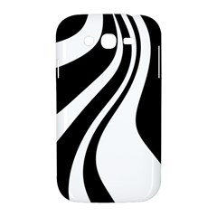 Black and white pattern Samsung Galaxy Grand DUOS I9082 Hardshell Case