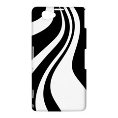 Black and white pattern Sony Xperia Z1 Compact
