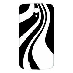Black and white pattern Samsung Galaxy Mega I9200 Hardshell Back Case