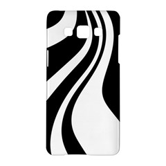 Black and white pattern Samsung Galaxy A5 Hardshell Case