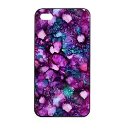 Underwater Garden Apple iPhone 4/4s Seamless Case (Black)