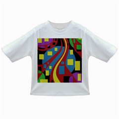 Colorful abstrac art Infant/Toddler T-Shirts