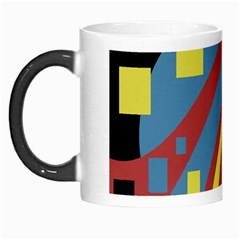 Colorful abstrac art Morph Mugs