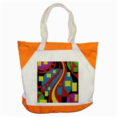 Colorful abstrac art Accent Tote Bag