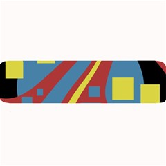 Colorful abstrac art Large Bar Mats