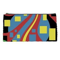 Colorful abstrac art Pencil Cases