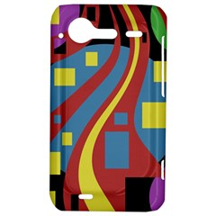 Colorful abstrac art HTC Incredible S Hardshell Case