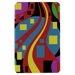 Colorful abstrac art Kindle Fire (1st Gen) Hardshell Case