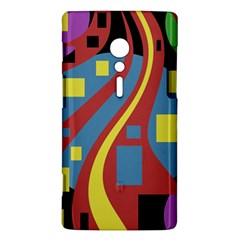 Colorful abstrac art Sony Xperia ion