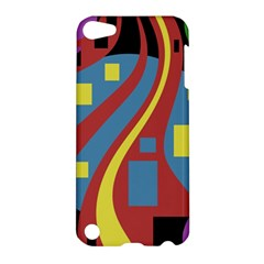 Colorful abstrac art Apple iPod Touch 5 Hardshell Case