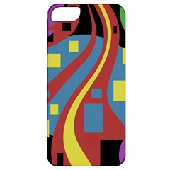 Colorful abstrac art Apple iPhone 5 Classic Hardshell Case