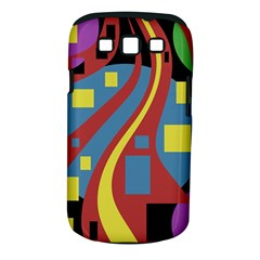 Colorful abstrac art Samsung Galaxy S III Classic Hardshell Case (PC+Silicone)