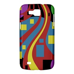 Colorful abstrac art Samsung Galaxy Premier I9260 Hardshell Case