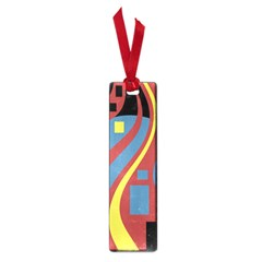 Colorful abstrac art Small Book Marks