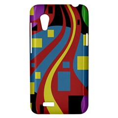 Colorful abstrac art HTC Desire VT (T328T) Hardshell Case