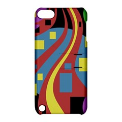 Colorful abstrac art Apple iPod Touch 5 Hardshell Case with Stand