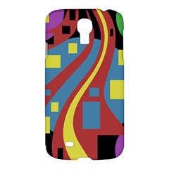 Colorful abstrac art Samsung Galaxy S4 I9500/I9505 Hardshell Case