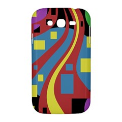 Colorful abstrac art Samsung Galaxy Grand DUOS I9082 Hardshell Case