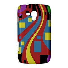 Colorful abstrac art Samsung Galaxy Duos I8262 Hardshell Case