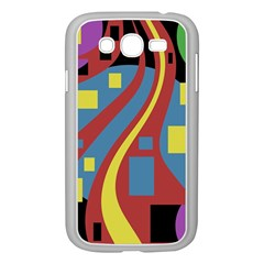 Colorful abstrac art Samsung Galaxy Grand DUOS I9082 Case (White)