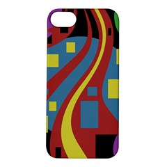 Colorful abstrac art Apple iPhone 5S/ SE Hardshell Case