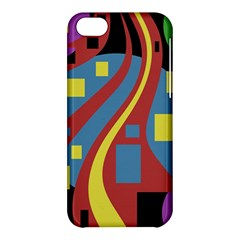 Colorful abstrac art Apple iPhone 5C Hardshell Case