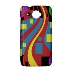 Colorful abstrac art HTC Desire 601 Hardshell Case