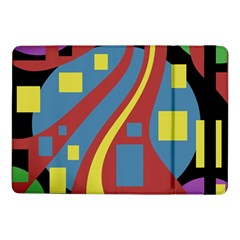 Colorful abstrac art Samsung Galaxy Tab Pro 10.1  Flip Case
