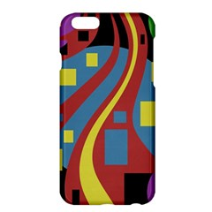 Colorful abstrac art Apple iPhone 6 Plus/6S Plus Hardshell Case