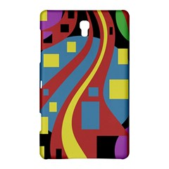 Colorful abstrac art Samsung Galaxy Tab S (8.4 ) Hardshell Case