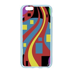 Colorful abstrac art Apple Seamless iPhone 6/6S Case (Color)