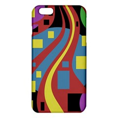Colorful abstrac art iPhone 6 Plus/6S Plus TPU Case