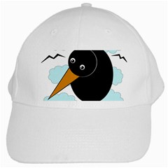 Black raven White Cap