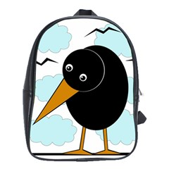 Black raven School Bags(Large)