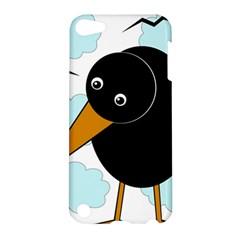 Black raven Apple iPod Touch 5 Hardshell Case
