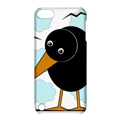 Black raven Apple iPod Touch 5 Hardshell Case with Stand