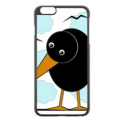 Black raven Apple iPhone 6 Plus/6S Plus Black Enamel Case