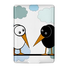Black and white birds Kindle 4