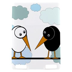 Black and white birds Kindle Touch 3G