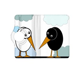 Black and white birds Kindle Fire HD (2013) Flip 360 Case
