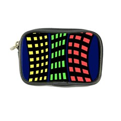 Colorful abstract city landscape Coin Purse