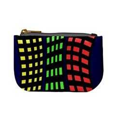 Colorful abstract city landscape Mini Coin Purses