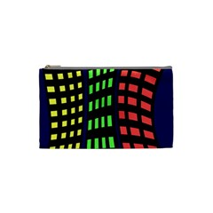 Colorful abstract city landscape Cosmetic Bag (Small)