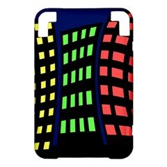 Colorful abstract city landscape Kindle 3 Keyboard 3G