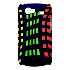 Colorful abstract city landscape Samsung Galaxy Nexus S i9020 Hardshell Case