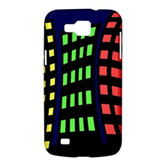 Colorful abstract city landscape Samsung Galaxy Premier I9260 Hardshell Case