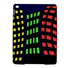 Colorful abstract city landscape iPad Air 2 Hardshell Cases