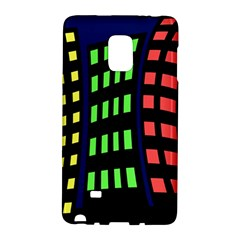 Colorful abstract city landscape Galaxy Note Edge