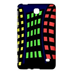 Colorful abstract city landscape Samsung Galaxy Tab 4 (8 ) Hardshell Case