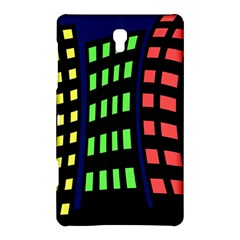 Colorful abstract city landscape Samsung Galaxy Tab S (8.4 ) Hardshell Case